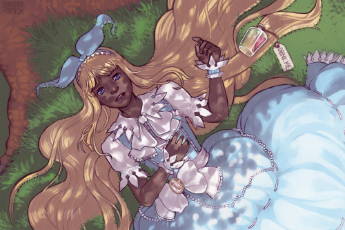 fuckyeablackart:  Alice by *Shattered-Earth