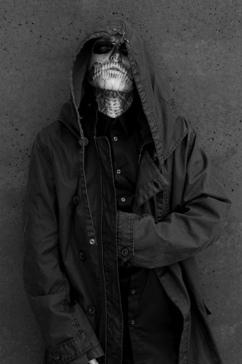 ibkodfashion:  Rick Genest by Joachim Baldauf, Traffic