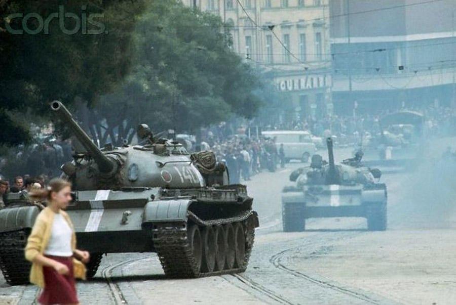 "August 21, 1968 began ""Operation Danube"""