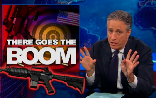 President Obama proposes gun legislation, the NRA goes avant-garde, and the ATF searches for a full-time director. http://on.cc.com/W8Xmnb