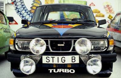 thatyellowvolvoguy:  hyggeandsisu:  SAAB Museum Trollhattan. by cabsaab900 on Flickr.  love it! Although I think there's room for a few more fog lamps…