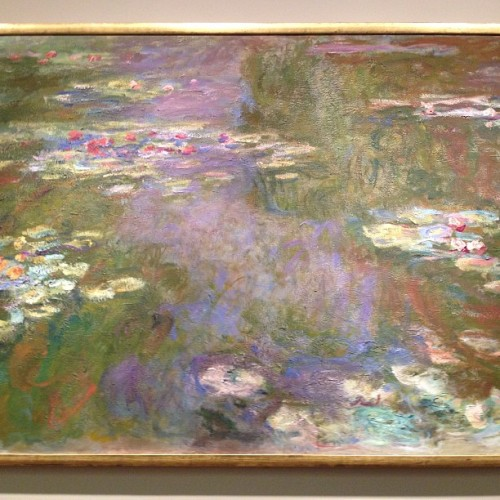 Monet (at The Art Institute of Chicago)