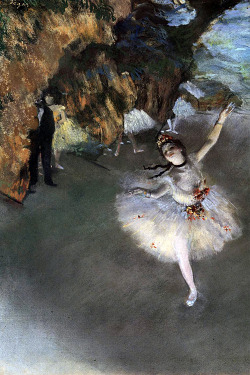 The Star, or Dancer on the Stage, 1878 by Edgar Degas