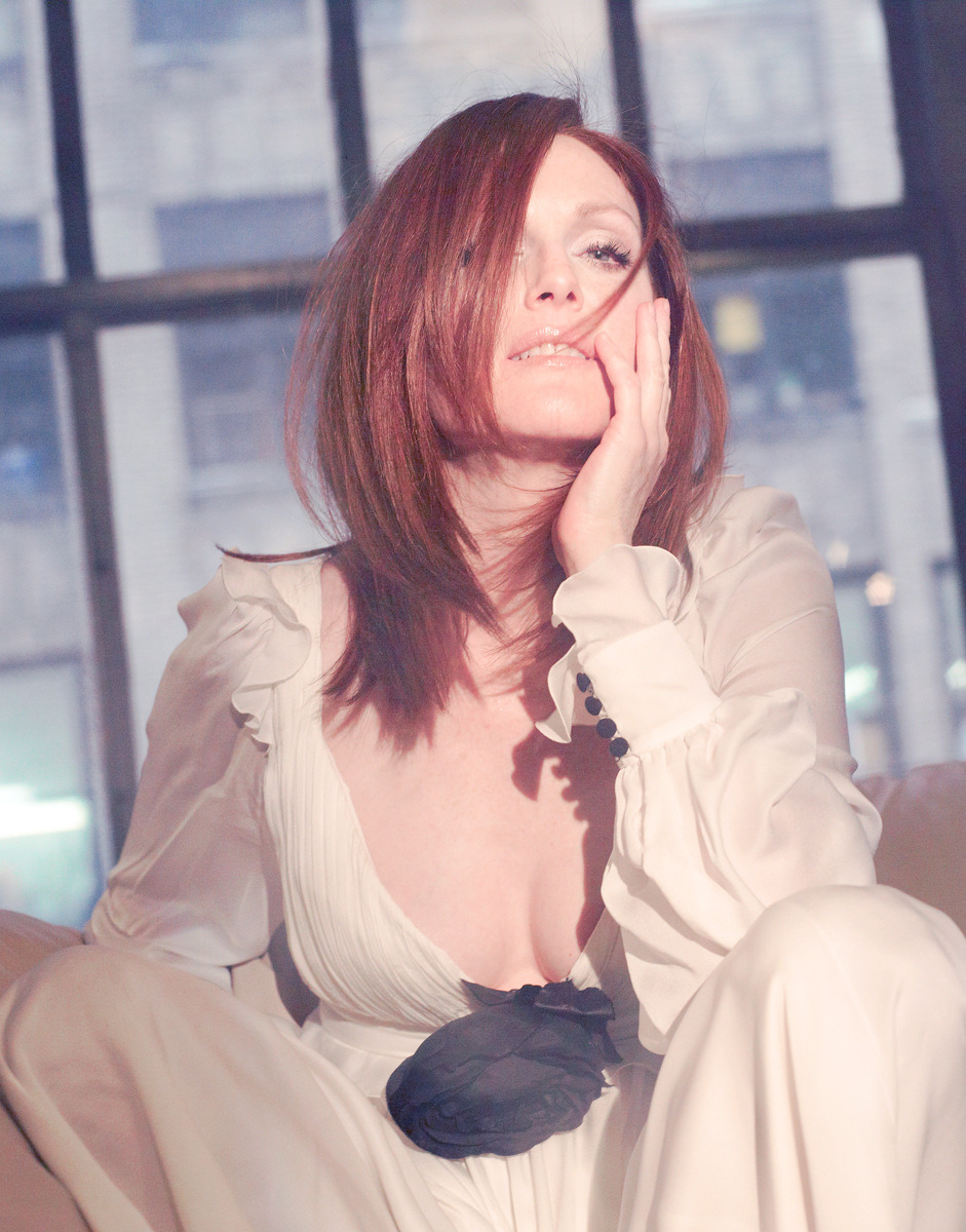 Julianne Moore by Kurt Iswarienko