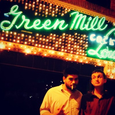 These two…  (at Green Mill Cocktail Lounge)