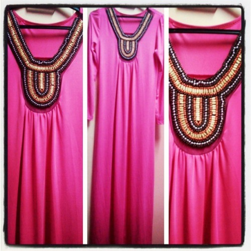 NEW MAXI DRESS FOR SALE! RM45.90 ONLY! FREE POSTAGE FOR SEMENANJUNG. 1ST COMES 1ST SERVED BASIS LIMITED STOCK!! #KeymeyOn9Shopping #pink #maxidress