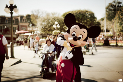 dfacecharacters:  Mickey Mouse! by mkealcoran on Flickr.
