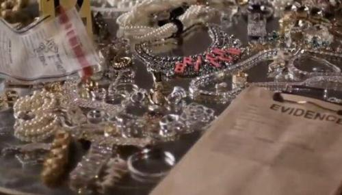 Spotted: our Tom Binns Design Tough Talk 'Rich Bitch' necklace in the trailer for Sofia Coppola's 'The Bling Ring'