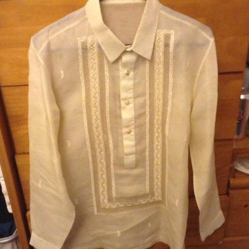 The barong got passed down to me. 😁 Thanks Ninong @ohl3l2y