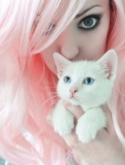 sweetpea-diva:  Kitty :3