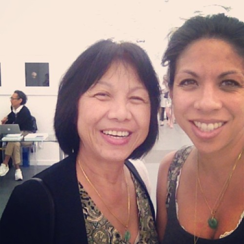 #happymothersday we're hanging out at #friezefair. #art time.