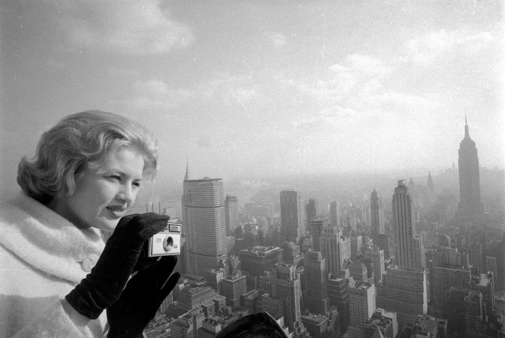 Diane Sawyer, 17. (via The Atlantic In Focus)