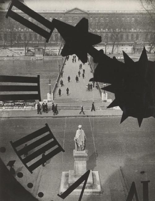 André Kertész Clock of the Académie Française, Paris, 1932 Thanks to wonderfulambiguity