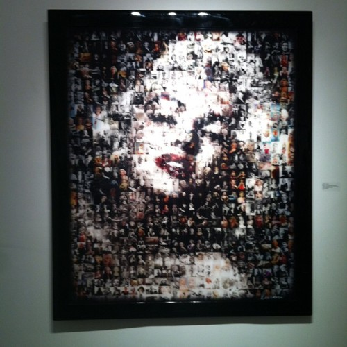 Marilyn made out of pictures
