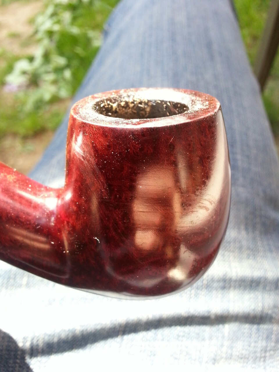 Back to Paris, enjoying a good pipe :-)