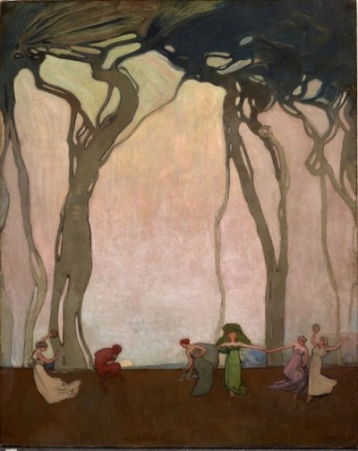artemisdreaming:  Fantasy, 1916 Sydney Long (Australian)
