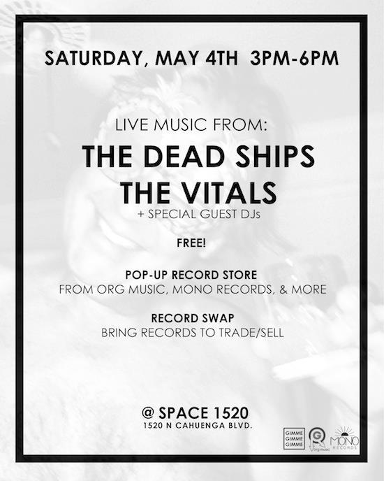 Vitals show this Saturday, May 4 2013 at Space 15 Twenty in Los Angeles, CA! RSVP here: https://www.facebook.com/events/508496032543394/