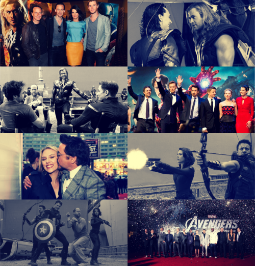 "movie meme | six collaborations/friendships/teams [5/6]  ↳Cast of The Avengers ""I hate those guys!""  No, it's a lovely troupe and each individually has so much to give. But maybe the best part, apart from them actually listening to me is that they are there for each other so much. When they're conflicting or supposed to be best friends, they're worst enemies, whatever it is, they'll come up for the other guy."""