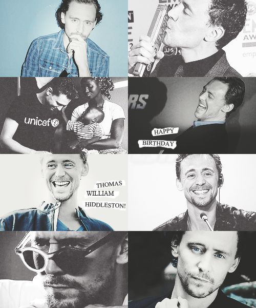 Happy Birthday Thomas William Hiddleston aka precious baby!
