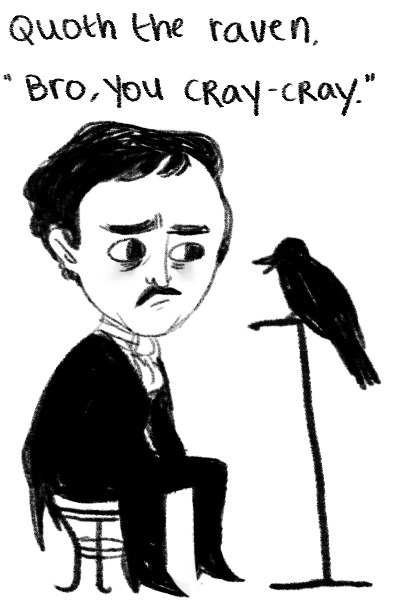 bookmania:  Happy 204th birthday to Edgar Allan Poe!