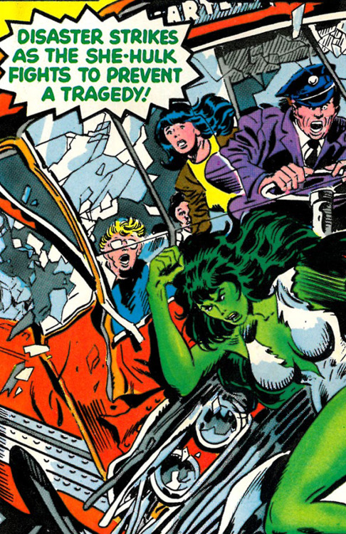 Disaster Strikes As The She-Hulk Fights To Avoid A Tragedy
