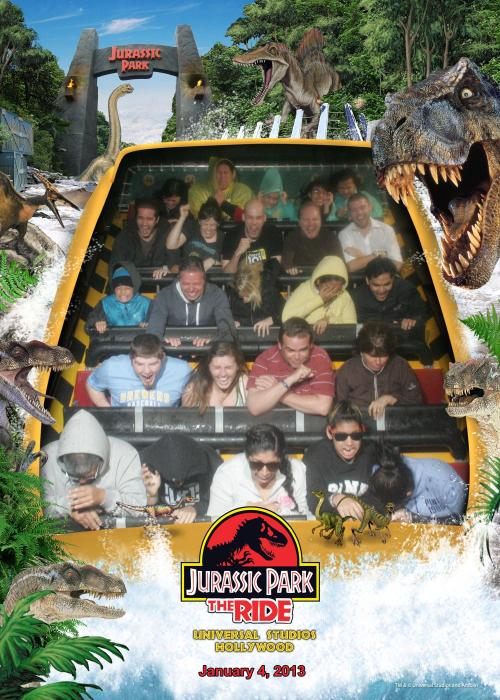 "They finally made ""Jurassic Park: The Ride: The Show"": The Ride!"