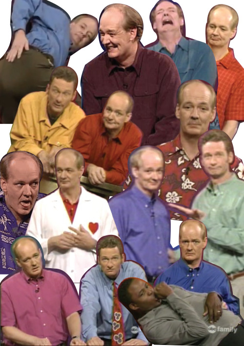 berrysweeet:  seaof-lines:  look i made a thing  WHOSE LINE IS COMING BACK YEEEEEE