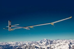 Swiss engineers have designed a plane capable of flying around the world - without burning an ounce of fuel.