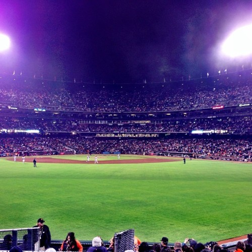 Giants vs phillies 🍺⚾ (at Secret Pigeon Black Ops Headquarters)