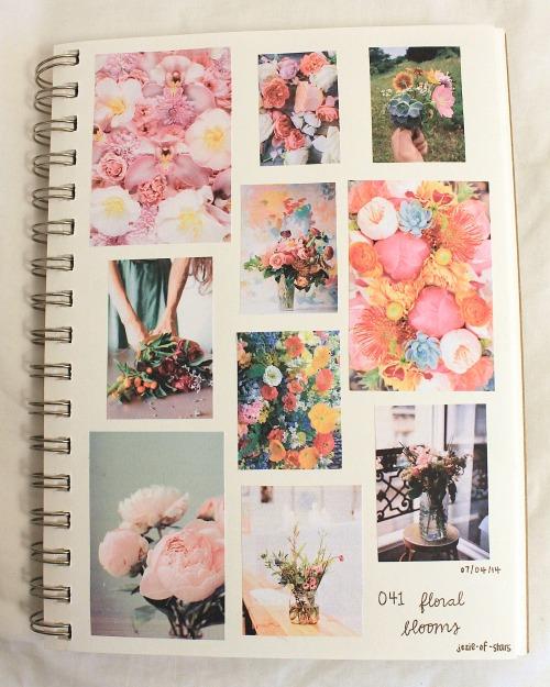 041. floral blooms