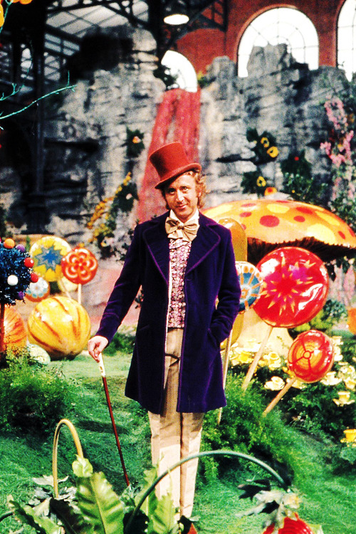 vintagegal:  Gene Wilder in Willy Wonka & the Chocolate Factory (1971)