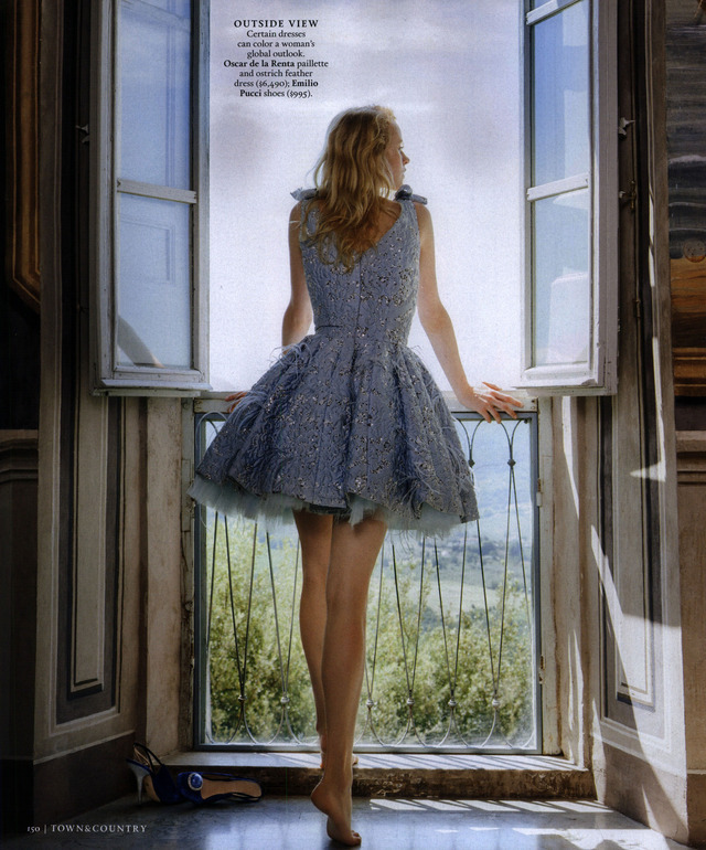 sensualfairytale:  Town & Country September 2012