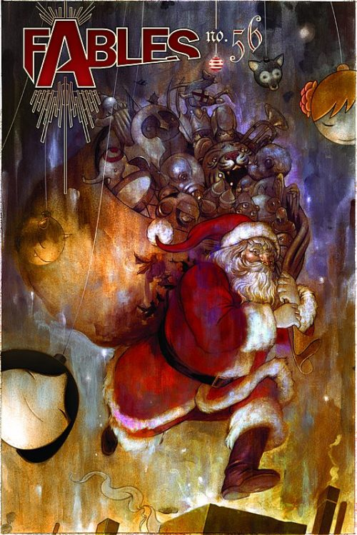 The 25 Comics of X-Mas: Fables #56, 2007. Cover by James Jean.