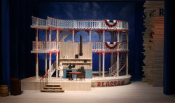set renderings for WNO: Show Boat, Set design by Peter J. Davison