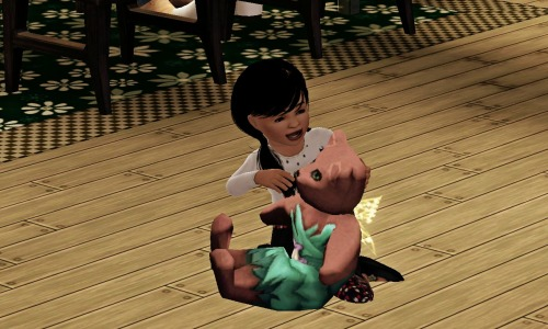 By the way…Lucy gave birth to a little girl called Enna. She's such a cutie :) Hell…Generation 3!