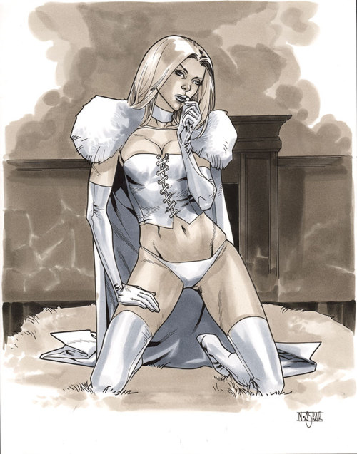 mahmudasrar:  White Queen - Comic Action Essen 2012 Pre-Show Commission
