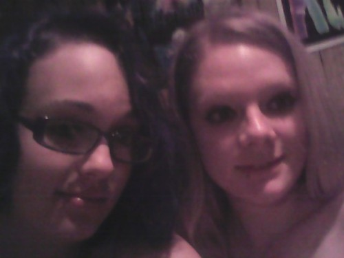 Me and my sister . She's unclothed