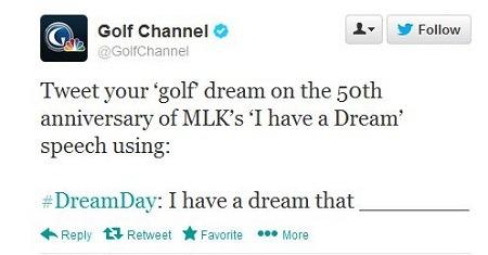 Fail Golf Channel, fail.