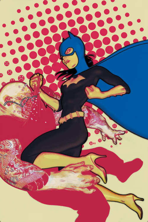 Batgirl #45 // James Jean