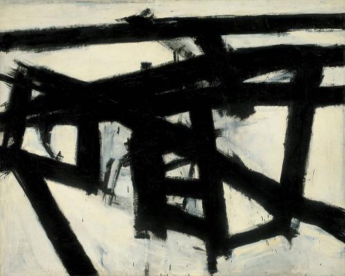 Franz Kline- Mahoning (1956)