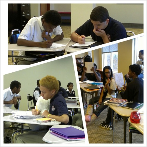 I love when they're studious. Goodbye, 2012! Here's to an even better 2013!