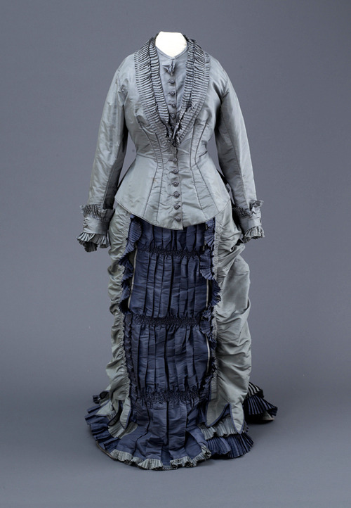 Dress ca. 1880 From the Hull Museums