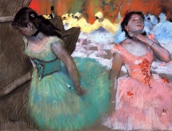 bofransson:  The Entrance of the Masked Dancers Edgar Degas - circa 1879-1882