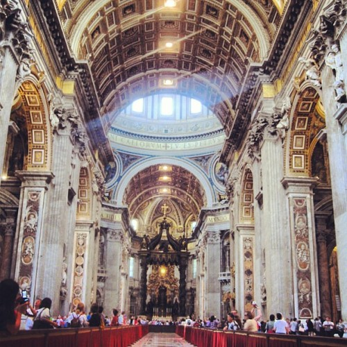 Rome Italy #study #beautiful #cathedral #church #history #fun