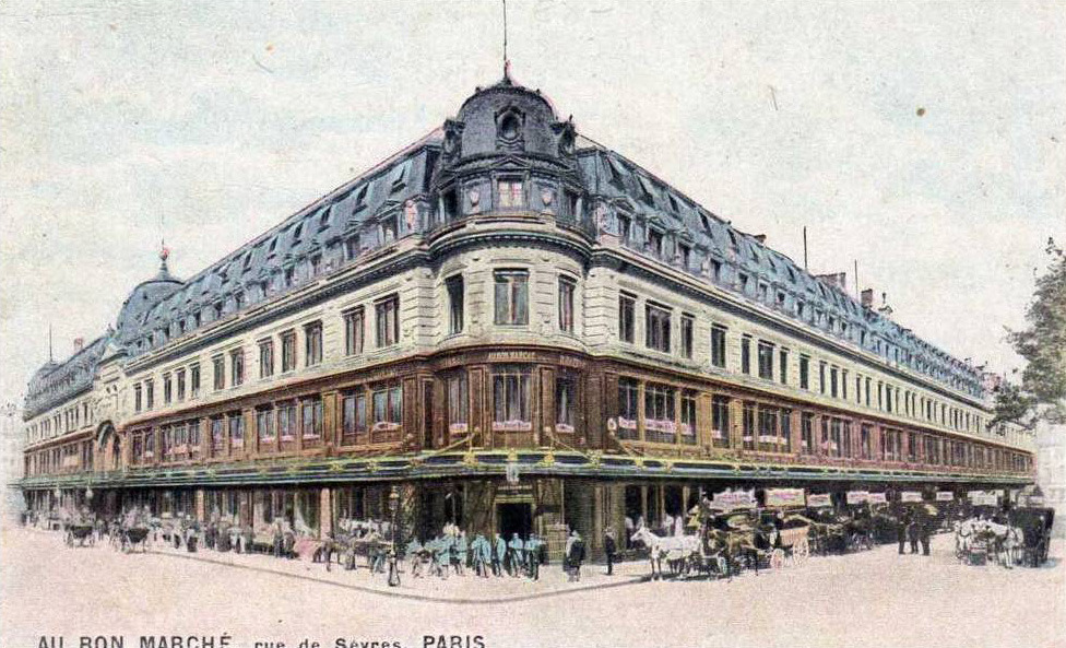 The Bon Marché Department Store, Paris