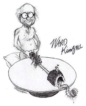 From Ward Kimball's MySpace page.