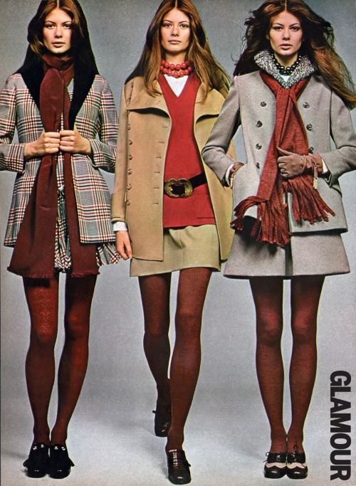 What Cher Horowitz and co. would have worn in the late '60s. Photo: John Stember - Glamour, September 1969.