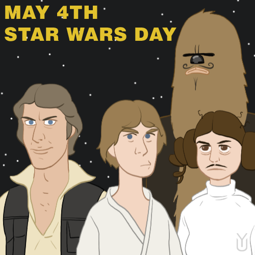 Happy Star Wars Day.