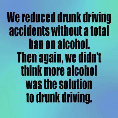 skepticalavenger:  Is more alcohol the solution to drunk driving?