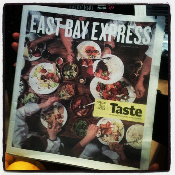 Frank we made the cover! (at Cosecha)